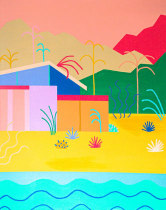 Fine Art Product : Palm Springs